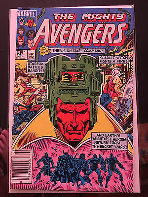 THE AVENGERS #243 NM 1st Print CANADIAN PRICE VARIANT Vision Thor