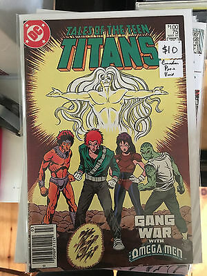TALES OF THE TEEN TITANS #75 VF/NM 1st Print CANADIAN PRICE VARIANT Newsstand
