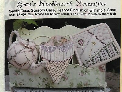 Embroidery Kit - Gran's Needlework Necessities Collection - Faeries in My Garden