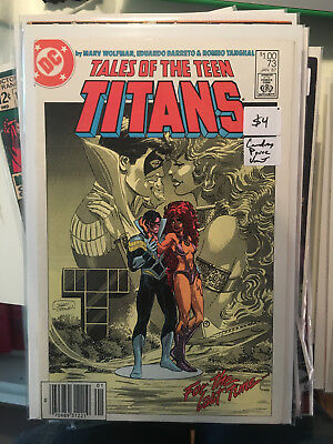 TALES OF THE TEEN TITANS #73 VF/NM 1st Print CANADIAN PRICE VARIANT Newsstand