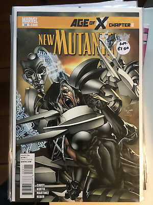 NEW MUTANTS #22 NM- 1st Print Mike Carey AGE OF X