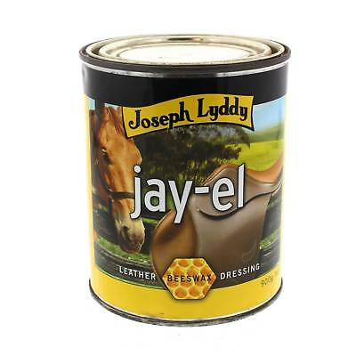 Jay El Beeswax Leather Dressing Joseph Lyddy Horse Equine 900g
