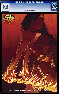 Wonder Woman 54 Frison Variant CGC 9.8 9/12/18 FAST TRACK FREE SHIPPING