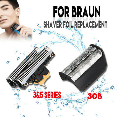 Shaver Foil + Cutter Blade Replacement for BRAUN 30B 310 330 340 195S 197S FIX40