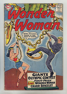 Wonder Woman #106 FN Andru, 2nd Wonder-Girl, Early S.A. WW, Early Steve Trevor