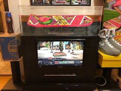 Custom Made Display Cases All Sizes For Back To The Future Signed Hover Board