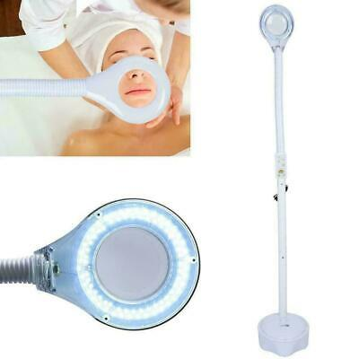 Pro 3x LED Magnifying Floor Stand Light Magnifier Glass Len Facial Lamp Beauty