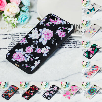 For Huawei Y9 Y5 Y6 Y7 Prime 2018 Shockproof Soft Painted TPU Back Case Cover