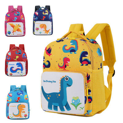 Lovely Toddler Baby Boys Girls Kids Dinosaur Pattern Animals Backpack School Bag