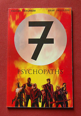 7 Psychopaths - Fabien Vehlmann Sean Phillips - Boom! Studios Graphic Novel