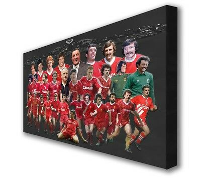 Liverpool Anfield Legends Large Wall Canvas Picture Print  Art 100cm x 63cm