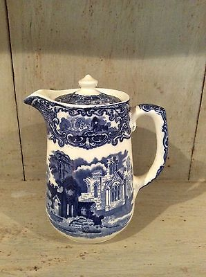 "Vintage George Jones & Sons ""ABBEY"" Hot Water Jug & Lid 1930s"