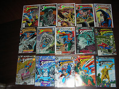 The Adventures Of Superman: 91 Book Collection~D.c. All Are Listed & Pictured