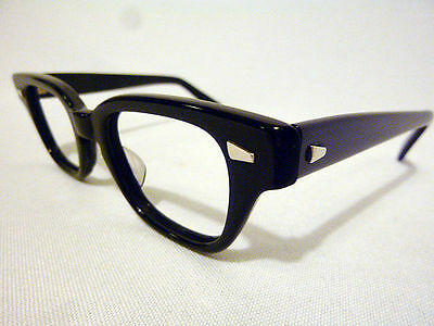 Vintage Pathway Optical Challenger Black 40/20 Eyeglass Frame New/Old Stock