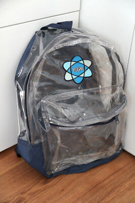 Original STOOPID ! Rucksack transparent - real vintage 90er rar Stussy Backpack