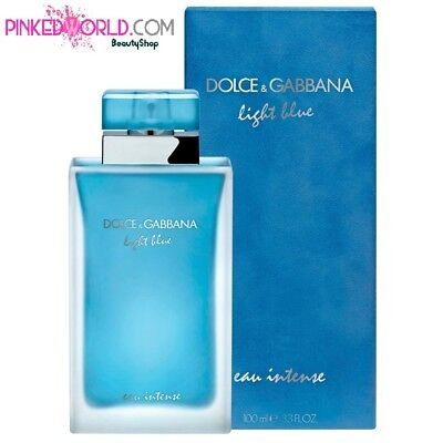 D&G DOLCE E GABBANA LIGHT BLUE EAU INTENSE POUR FEMME EDP 100 ml - Senza Scatola