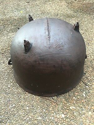 Large Antique Cast Iron Cauldron Pot, Gatemarked, 3 Leg Kettle