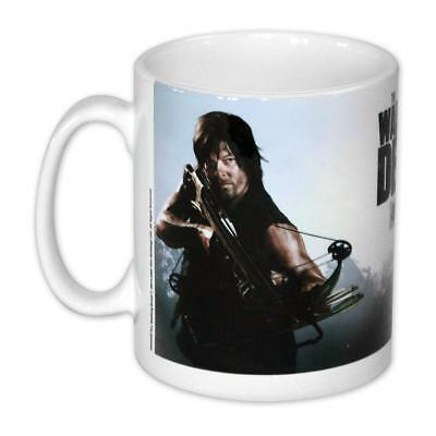 The Walking Dead Tasse Daryl Dixon Kaffeetasse Premium Keramik Becher 320ml NEU