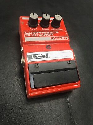 DOD FX80-B Compressor Sustainer Effect Pedal Made in USA