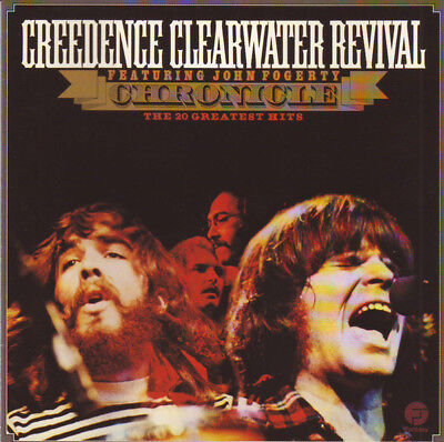 Chronicle, Vol. 1 by Creedence Clearwater Revival 20 GREATEST HITS CD CCR