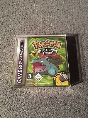 Nintendo GameBoy Advance Pokemon Blattgrün Edition Versiegelt Red Strip RAR NEU*