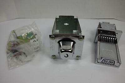 Whirlpool 4396665 Commercial Laundry Coin Box / Coin Slide Kit with Labels / Key