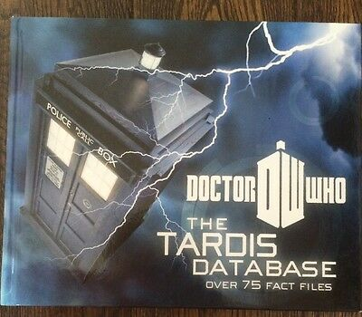 Doctor Who -The Tardis Database -   Hardback Book -Brand New -Over 75 Fact Files