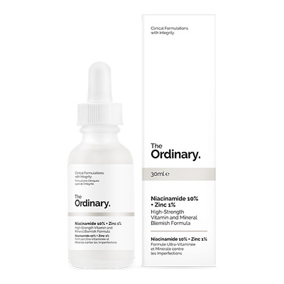 The Ordinary Niacinamide 10% + Zinc 1% 30ml High Strength Vitamin Mineral