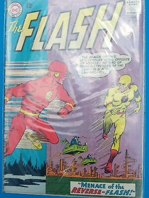The Flash #139 (Sep 1963, DC) 1st appearance of Reverse Flash/Professor Zoom