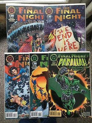 The Final Night #1-4, Parallax Emerald Night Special, Hal Jordan (1996 Dc) Nm