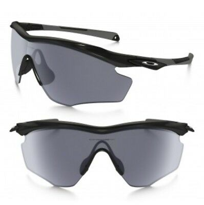 NEW OAKLEY M2 Frame XL Polished Black w/Grey OO9343-01 - $89.99 ...