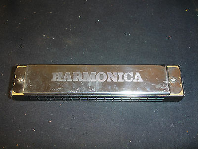 Old Vtg Collectible Harmonica Music Musical Instrument