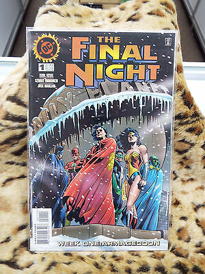 The Final Night #1 November 1996 DC Comic (Bagged and Boarded)