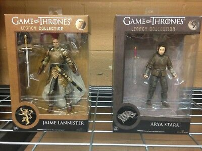 Game of Thrones Legacy Collection Action Figures, Arya Stark or Jaime Lannister