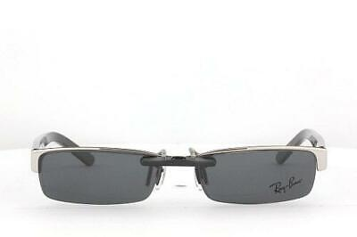 91a07002384 Custom Fit Polarized CLIP-ON Sunglasses For RAY-BAN 6182 53X17 RB6182 RAYBAN