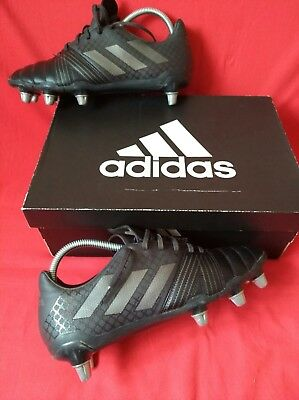 Adidas Rugby Boots Size 8 black authentic