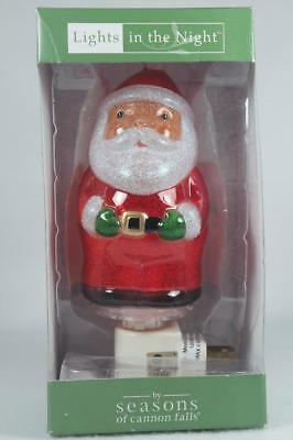 Midwest Lights In The Night 'Santa' Night Light Swivel Plug Base New In Box