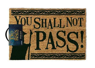 Lord of the Rings Fußmatte You Shall not Pass - Herr der Ringe Fußabtreter NEU