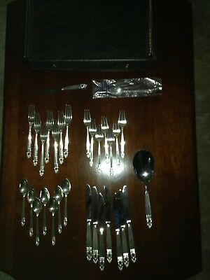 """International Sterling """"Royal Danish"""" 31-piece set, 1986 and later"""