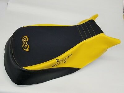 can am can-am outlander xmr 570 650 800 1000 mudding seat cover 2012 yellow/blk
