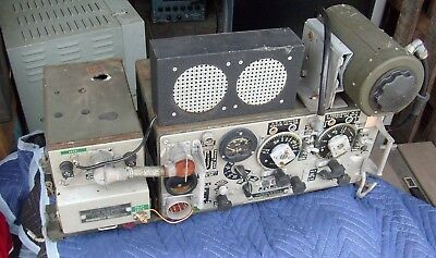 Vintage Signal Corps  No 19 Mk II Tank Radio Transceiver WWII - Pittsburgh Pa.