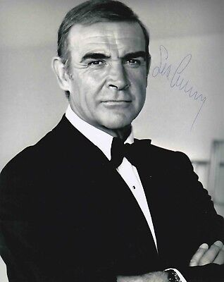 Sean Connery Authentic Signed James Bond 007 10X8 Photo Aftal#198