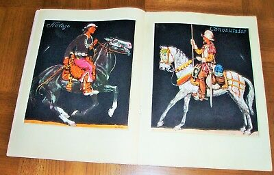 September 1952 Arizona Highways - Artist Jo Mora 'horsemen' - Western Boot-Spurs