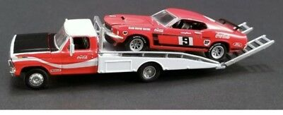 ACME 1:64 Allan Moffat Racing Ford F-350 & 1969 Trans Am Mustang New Signed