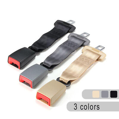 Universal 9'' Car Seat Adjustable Seatbelt Safety Belt Extender Extension Buckle