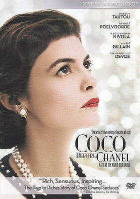 COCO BEFORE CHANEL 2010 French dvd AUDREY TAUTOU