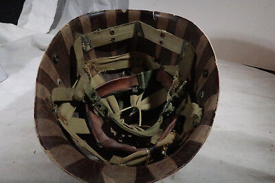WWII US Army Paratrooper Airborne Helmet Liner Seaman Paper Company