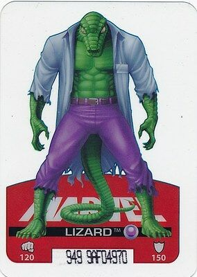#47 LIZARD 2008 Marvel Edibas Lamincards SPIDER-MAN