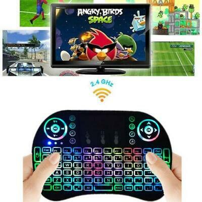 Lot 1 Backlight LED i8 Wireless Keyboard 2.4GHz Keyboard Remote Control Touchpad