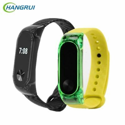 silicon strap For xiaomi Mi band 2 3 Wrist Strap Smart Band Miband 2 Extended Pl